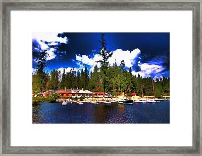 Elkins Resort Framed Print by David Patterson