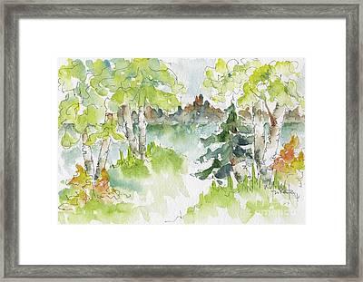 Elkridge Greens Framed Print