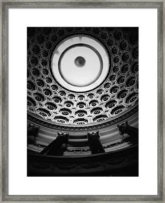 Elks National Veterans Memorial Rotunda Framed Print by Kyle Hanson