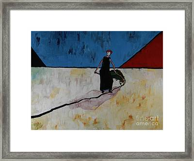 Ella Going Home 36x40 Framed Print