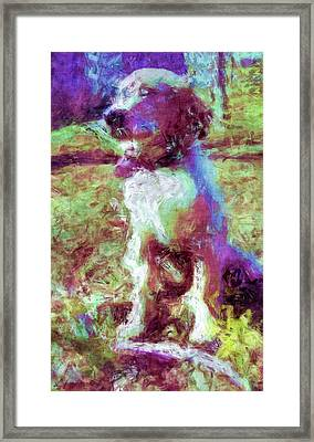 Ella Framed Print by Rora