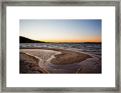 Ellacoya Beach Framed Print