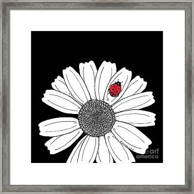 Ella's Daisy Framed Print