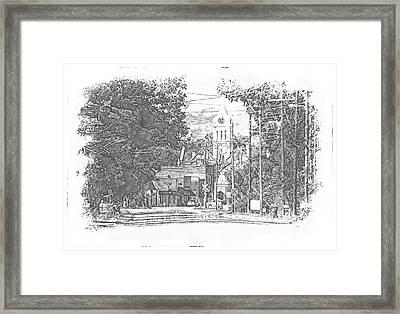 Ellaville, Ga - 1 Framed Print