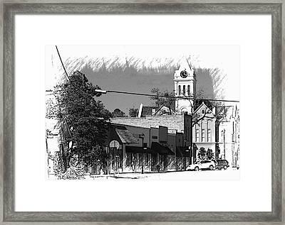 Ellaville, Ga - 3 Framed Print