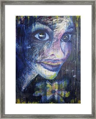 Elle Framed Print by Stephanie Cook