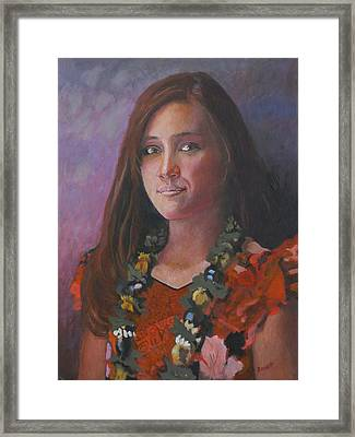 Ellen Gotchell - Junior Miss 2007 Framed Print by Robert Bissett