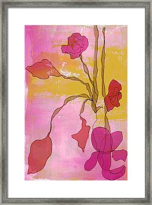 Ellen I Framed Print by Lisa Noneman