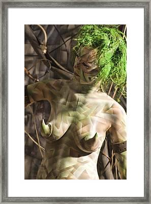 Ellenor Robot Framed Print by Leigh Odom