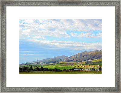 Ellensburg - Manastash Ridge Framed Print