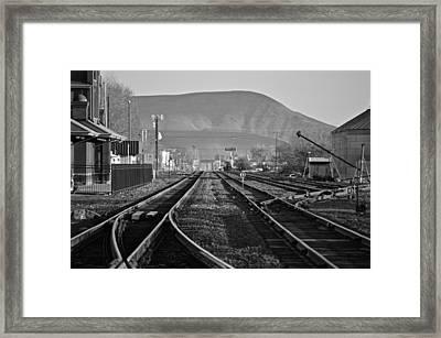 Ellensburg Station Framed Print