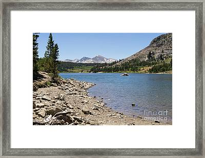 Ellery Lake Tioga Pass Yosemite California Dsc04318 Framed Print