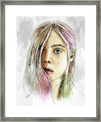 Elliannah La Lumire Du Printemps Framed Print by Gary Bodnar