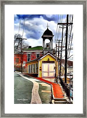 Ellicott City Fire Museum Framed Print