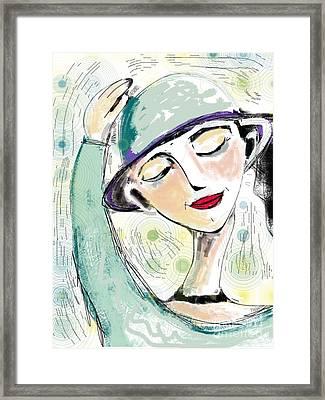 Ellie Framed Print by Elaine Lanoue