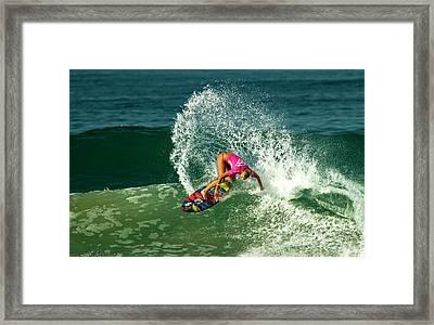 Ellie-jean Coffey Aus Framed Print by Waterdancer