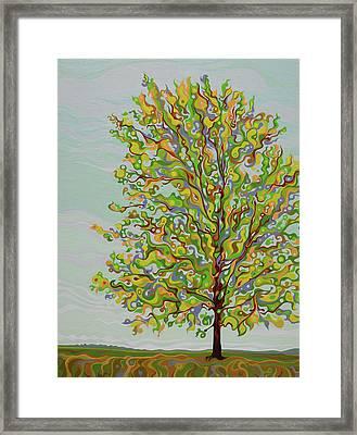 Ellie's Tree Framed Print