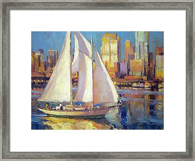 Elliot Bay Framed Print