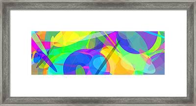 Ellipses 10 Framed Print by Chris Butler