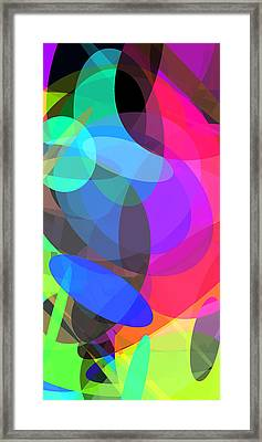 Ellipses 3 Framed Print