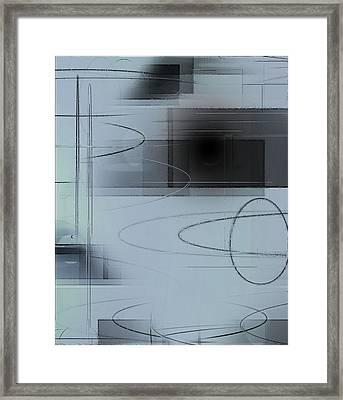 Ellipses Framed Print