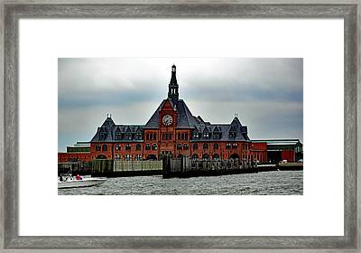 Communipaw Terminal No. 49 Framed Print
