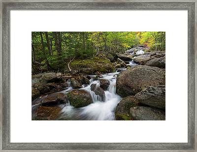 Ellis River New Hampshire Framed Print by Bill Wakeley