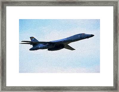 Ellsworth B-1b Framed Print by JC Findley