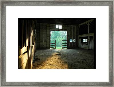 Ellwood Barn 2 Framed Print