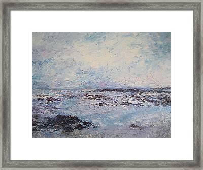 Elly Bay Framed Print by Niamh Slack