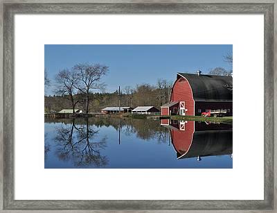 Elm Lea Farm Framed Print