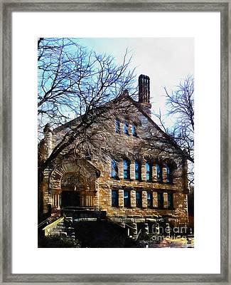 Elm Park Church Scranton Pa Framed Print