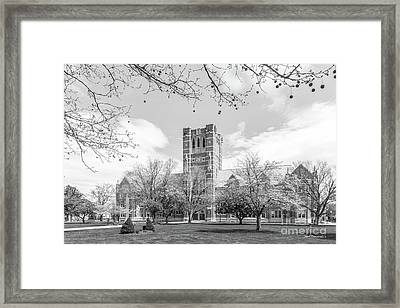 Elms College  Framed Print by University Icons