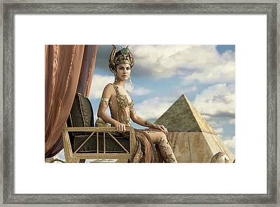 Elodie Yung As Hathor Gods Of Egypt Framed Print