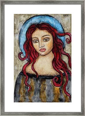 Eloise Framed Print by Rain Ririn