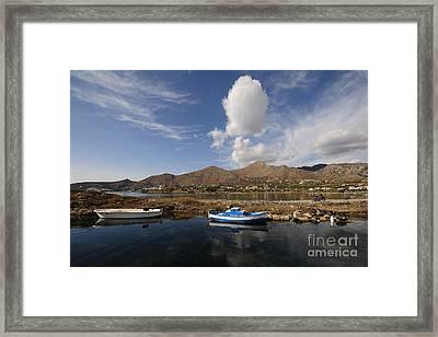 Elounda, Crete Framed Print