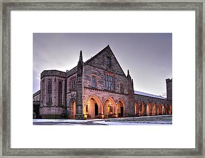 Elphinstone Hall - University Of Aberdeen Framed Print