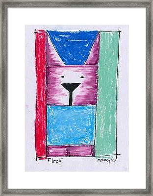 Elroy Framed Print