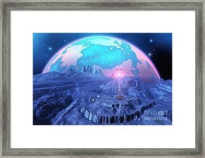 Elterra Framed Print by Corey Ford