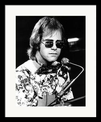 Elton John Photographs Framed Prints