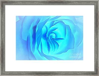 Elusive Blue Framed Print by Krissy Katsimbras
