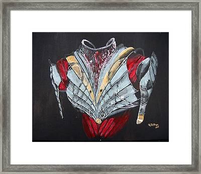 Framed Print featuring the painting Elven Armor by Richard Le Page