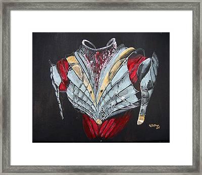 Elven Armor Framed Print