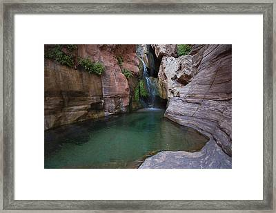 Elves Chasm Framed Print by Mike Buchheit