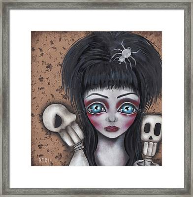 Elvira Framed Print by Abril Andrade Griffith