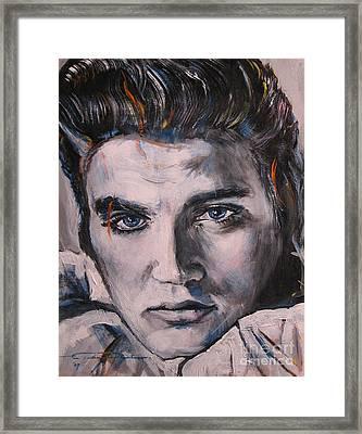 Elvis 2 Framed Print