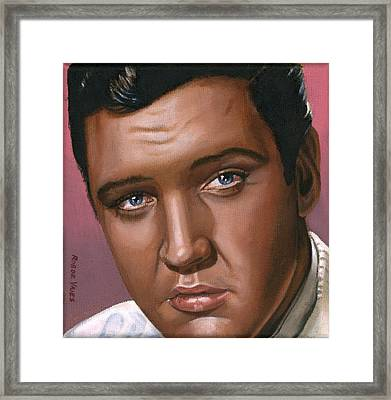 Elvis 24 1962 Framed Print by Rob De Vries