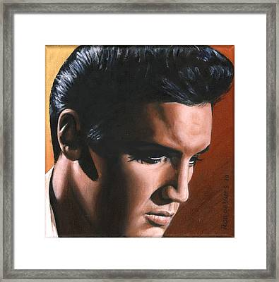 Elvis 24 1963 Framed Print by Rob de Vries