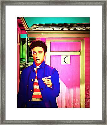 Elvis Has Left The House 20151225 Framed Print by Wingsdomain Art and Photography