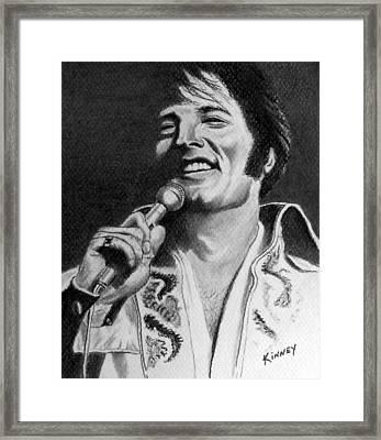 Elvis No. 8 Framed Print by Jay Kinney